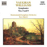 Vaughan Williams: Symphonies Nos 5 & 9 (CD)