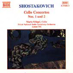 Shostakovich: Cello Concertos Nos 1 and 2 (CD)