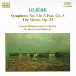 Glière: Symphony No 1; The Sirens (CD)
