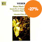 Weber: Piano Works, Vol. 2 (CD)