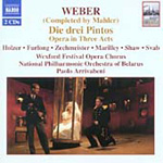 Weber: The Three Pintos (CD)