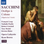Sacchini: Oedipe à Colone (CD)