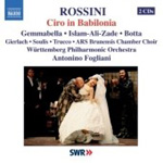 Rossini: Ciro in Babilonia (CD)