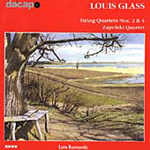 Glass, L: String Quartets Nos 2 & 4 (CD)