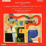 Vagn Holmboe: Complete Chamber Concertos, Volume 3 (CD)