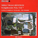 Bentzon: Symphonies Nos 5 & 7 (CD)