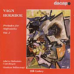 Holmboe: Preludes for Sinfonietta, Vol 2 (CD)