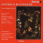 Buxtehude: Vocal Music, Volume 2 (CD)
