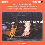Langgaard: Symphonies Nos 4 & 5 (versions I & II) (CD)