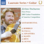 Jerome Ducharme - Guitar Recital (CD)