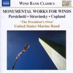 Monumantal Works for Winds (CD)