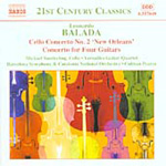 Balada: Cello Concerto; Concerto for Four Guitars (CD)