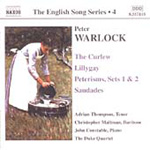 English Song Series, Vol. 4 - Warlock (CD)