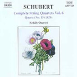 Schubert: Complete String Quartets, Vol 6 (CD)