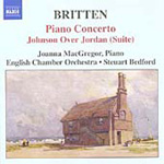 Britten: Piano Concerto; Johnson Over Jordan (Suite) (CD)