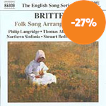 Britten: Folk Song Arrangements, Vol 2 (CD)