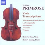 Primrose: Viola Transcriptions (CD)