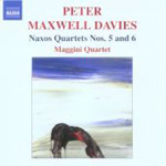 Maxwell Davies: Naxos Quartets Nos 5 and 6 (CD)