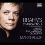 Brahms: Symphony No 2; Hungarian Dances (CD)