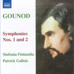Gounod: Symphonies Nos 1 and 2 (CD)