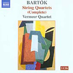 Bartók: Complete String Quartets (CD)