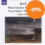 Bax: Piano Sonatas Nos 3 & 4 (CD)
