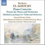 El-Khoury: Works for Piano and Orchestra (CD)