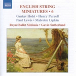 English String Miniatures, Vol 6 (CD)