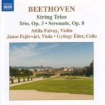 Beethoven: String Trios, Opp 3 and 8 (CD)