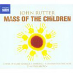 Rutter: Mass of the Children; Wedding Canticle; Shadows (CD)