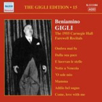 The Gigli Edition, Volume 15 (CD)