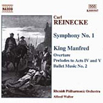 Reinecke: Symphony No. 1. King Manfred - Excerpts (CD)