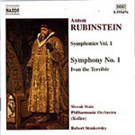 Rubinstein: Ivan the Terrible. Symphony No. 1. (CD)