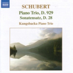 Schubert: Piano Trio No 2 (CD)