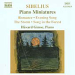 Sibelius: Piano Miniatures (CD)