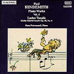 Hindemith: Piano Works, Vol. 4 (CD)