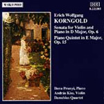 Korngold: Chamber Works (CD)