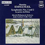 Emmanuel: Orchestral Works (CD)