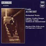 Aubert: Orchestral Works (CD)