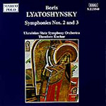 Lyatoshynsky: Symphonies Nos 2 and 3 (CD)