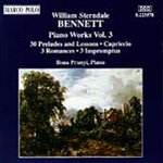 Sterndale Bennett: Piano Works - Volume 3 (CD)