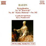 Haydn: Symphonies Nos 45,48 and 102 (CD)