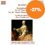 Produktbilde for Haydn: Symphonies Nos 45,48 and 102 (CD)