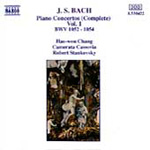 Bach: Keyboard Works - Volume 1 (CD)