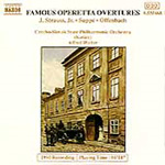 Famous Operetta Overtures (CD)