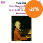 Mozart: String Quartets, Vol. 1 (CD)