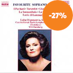 Produktbilde for Favourite Soprano Arias (CD)