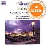 Produktbilde for Elgar: Symphony No 2 (CD)