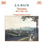 Bach: Keyboard Toccatas (CD)