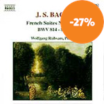 Bach: French Suites Nos 3-6 (CD)